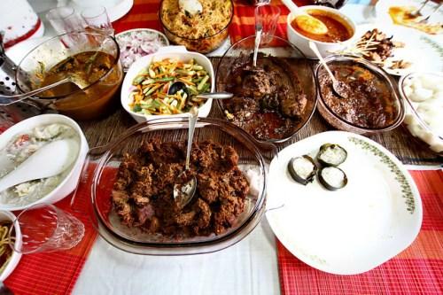 An Eid feast in Malaysia by Phalinn Ooi