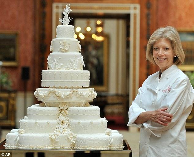 Royal Wedding Cake Kate And William Recipe