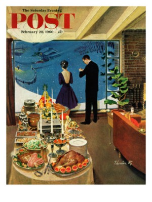Saturday Evening Post Cover Holidays