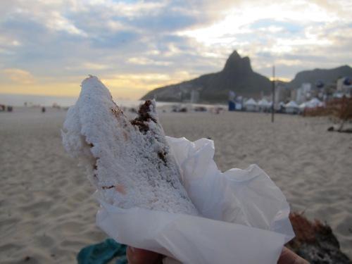 Beiju on Ipanema Beach