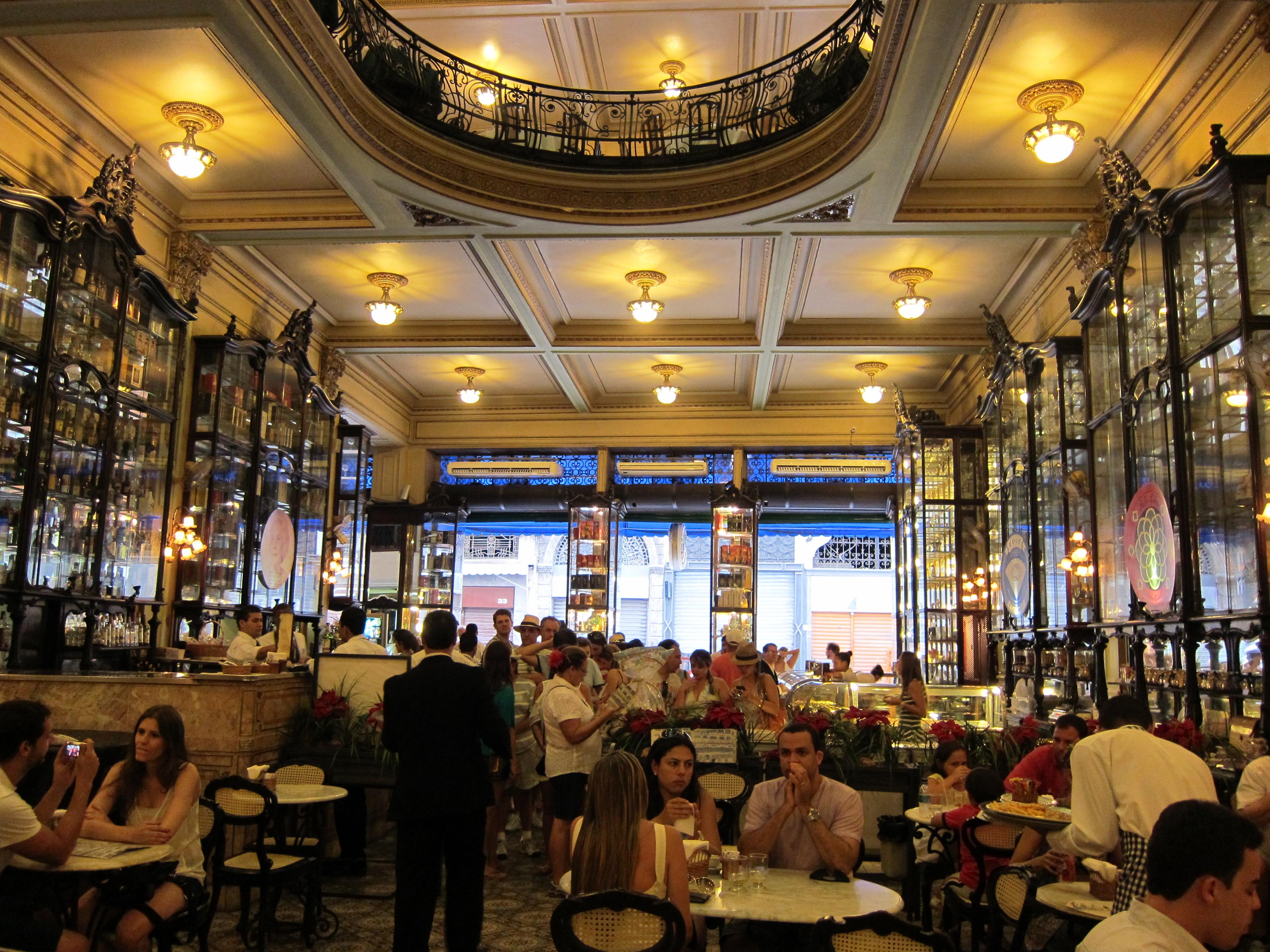 Cafe Confeitaria Colombo Rio De Janeiro