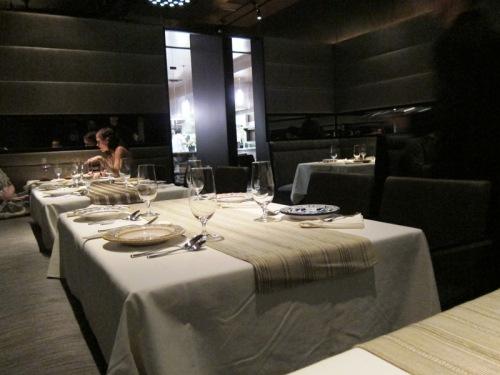 scene at next restaurant
