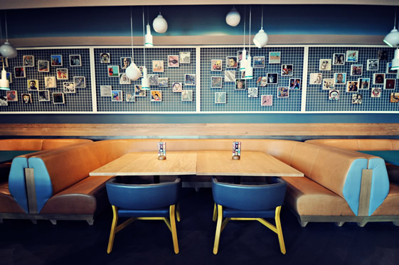 Stunning international restaurant interior design eating