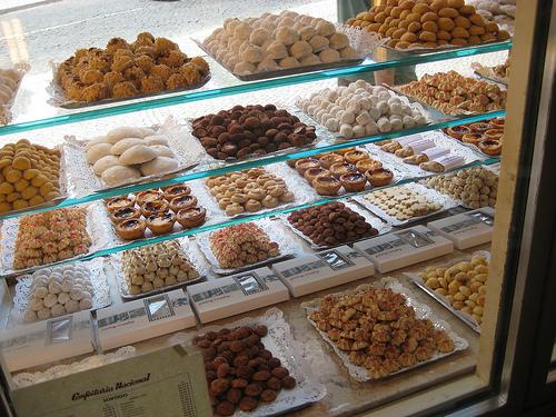 Pastries and Cookies at Confeitaria Nacional, Lisbon