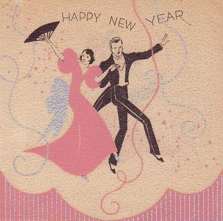 Vintage Happy New Year