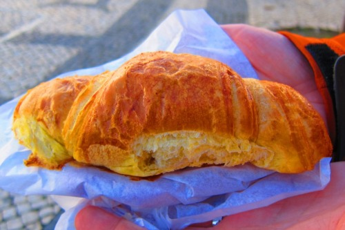 Croissants at Pastelaria Benard