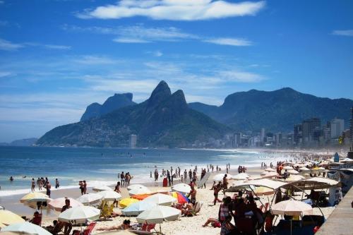 Ipanema Beach and Dois Irmaos