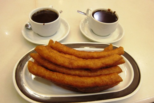 Chocolate and Churros at Valor