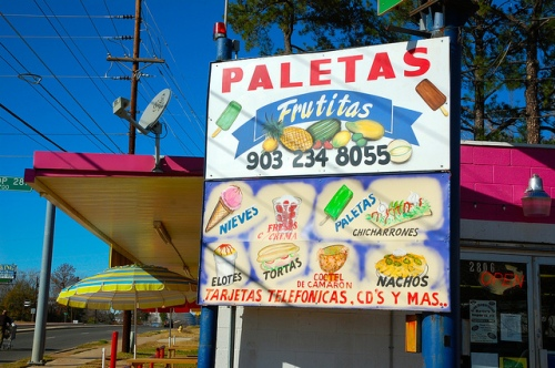 Paleteria in Texas
