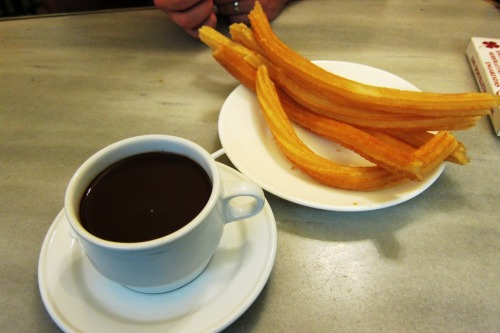 Chocolate and Churros at San Gines