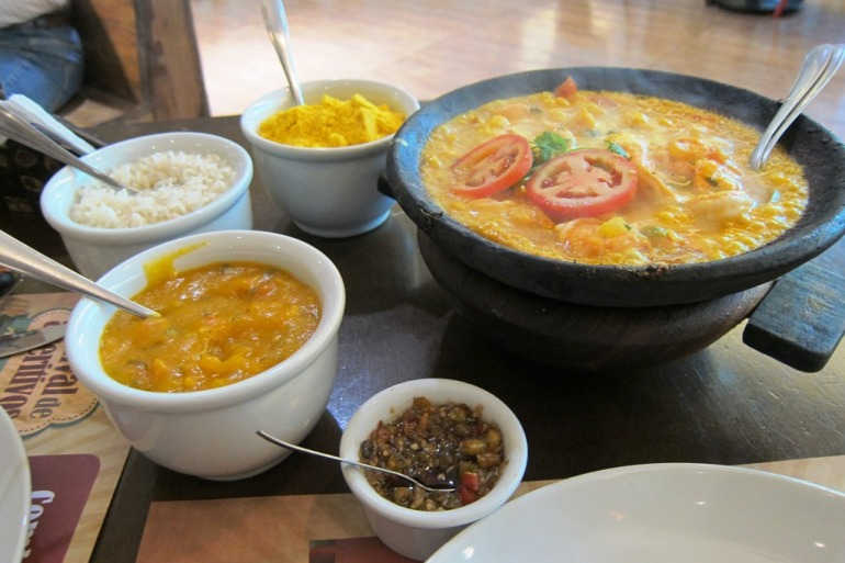 Moqueca at Terra Brasil in Salvador Shopping
