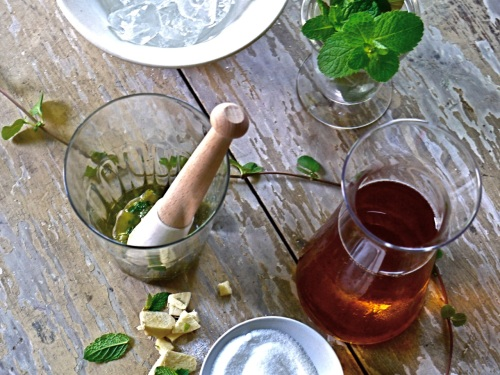 Bellocq Mint Tea from Design Sponge