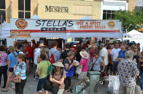 Stella's Spicy Cheese Bread Stall