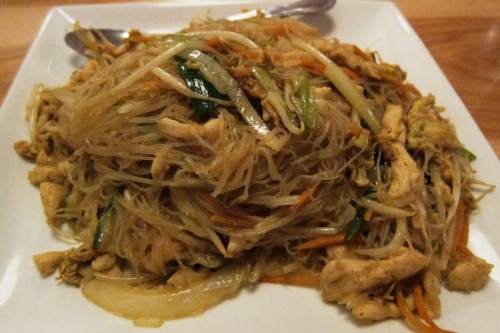 Singapore Noodles at Katy's Dumpling House