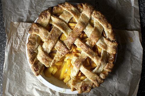 Smitten Kitchen's Peach Pie
