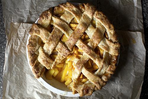 Smitten Kitchen's Peach Pie