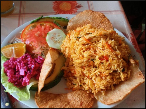 Costa Rican Lunch
