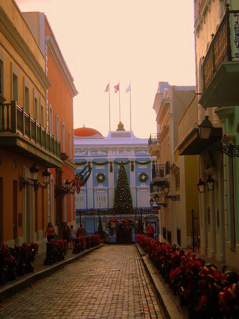Christmas in Viejo San Juan