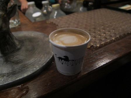 Cortadito at Panther Coffee in Wynwood