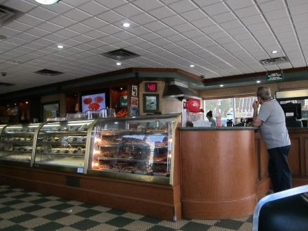 Interior of Versailles, at the western end of Little Havana / Calle Ocho