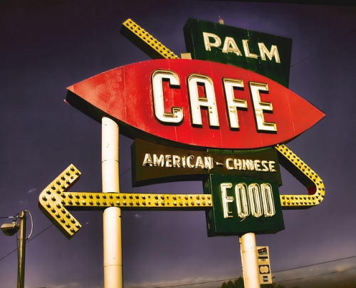 Palm Cafe on Route 66