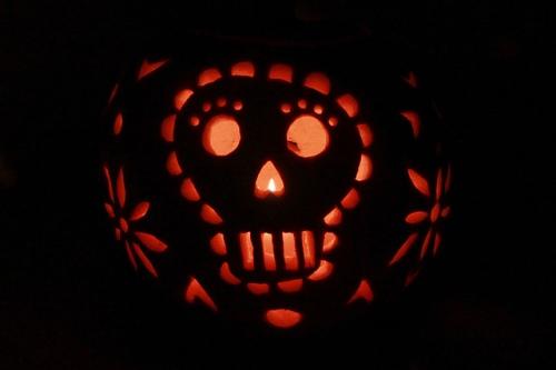 Papel Picado Pumpkin