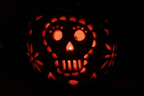 Papel Picado Pumpkin