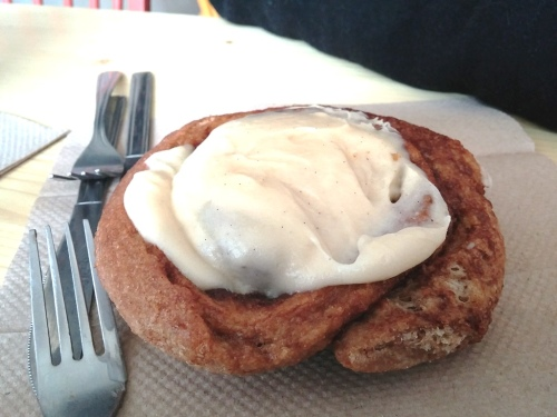 Cinnamon Roll at Baker Miller