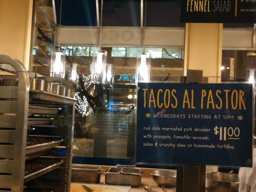 Tacos Al Pastor at Xoco