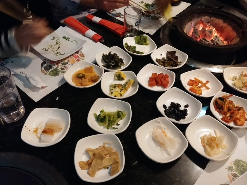 Banchan at Gogi