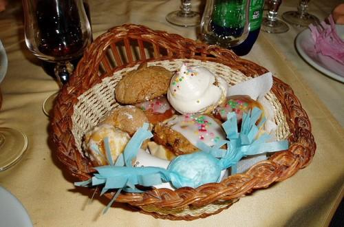 Pabassinas from Sardinia (Center with sprinkles)