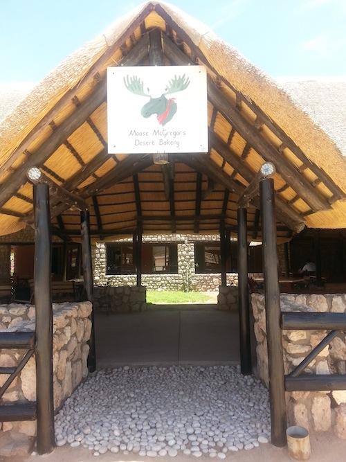 Moose MacGregor's Desert Bakery in Namibia